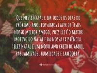 Feliz Natal e um Prospero Ano Novo