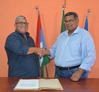 Gilson Almeida toma posse como presidente da Câmara de Vereadores de Livramento