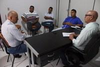 Parlamentares de Livramento recebem a visita do vereador por Cuiabá Marcos Veloso