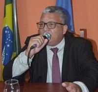 Vereador Gilson Cesar de Almeida pede urgência na reforma da ponte do Rio Brumadinho