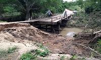 Vereadores cobram reforma de ponte na zona rural