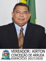 Vereador Airton Conceição de Arruda